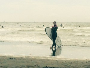 2015 summer サーフィン始めました☆